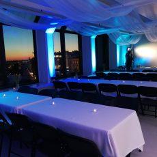 Juhlatila M6, Helsingin kattojen ylla