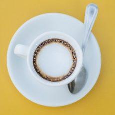 pelkkä kahvi, jos ette halua jälkiruokaa