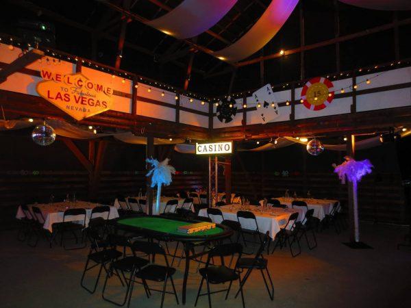 Las Vegas ja casino teemajuhlat Juhlatila M6lla