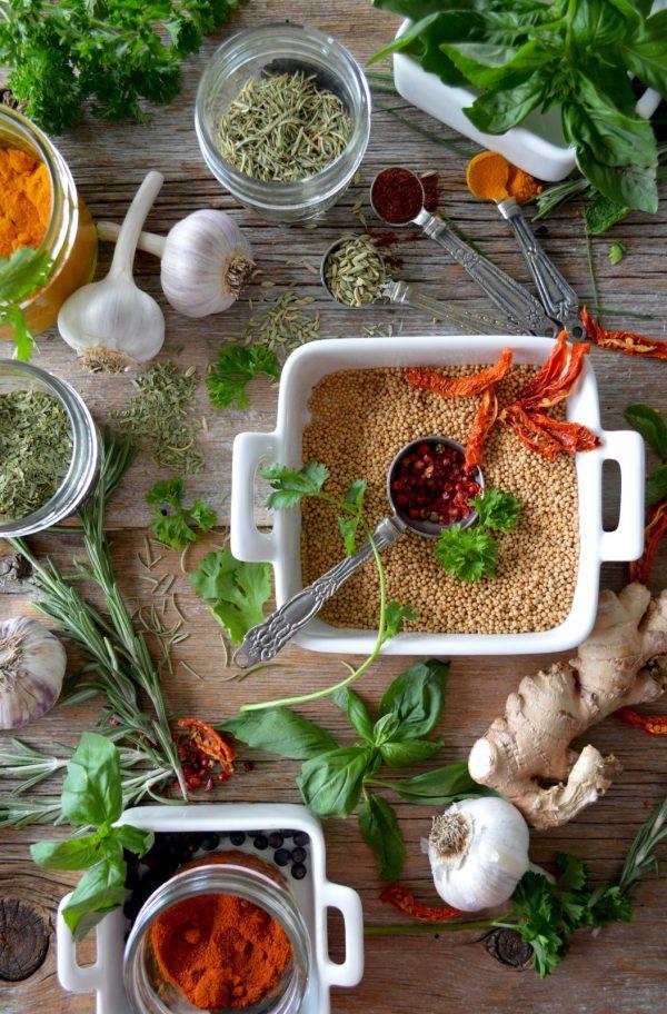Vegaaninen buffet 1