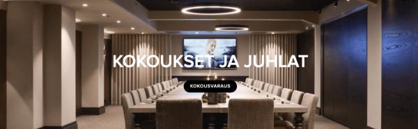Lapland Hotels Bulevardi kokouspaketti